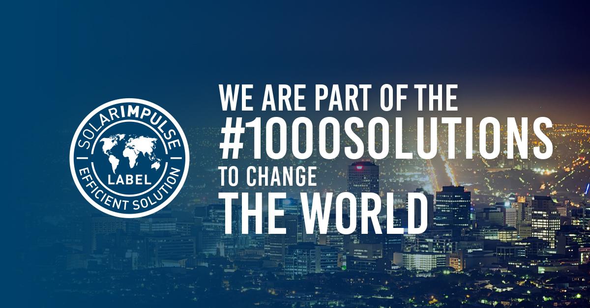 Solar Impulse Foundation Label Announcement